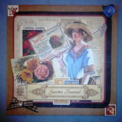 "Enveloppe ""Garden Journal"""