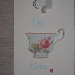 "Carte ""Tea Time"""