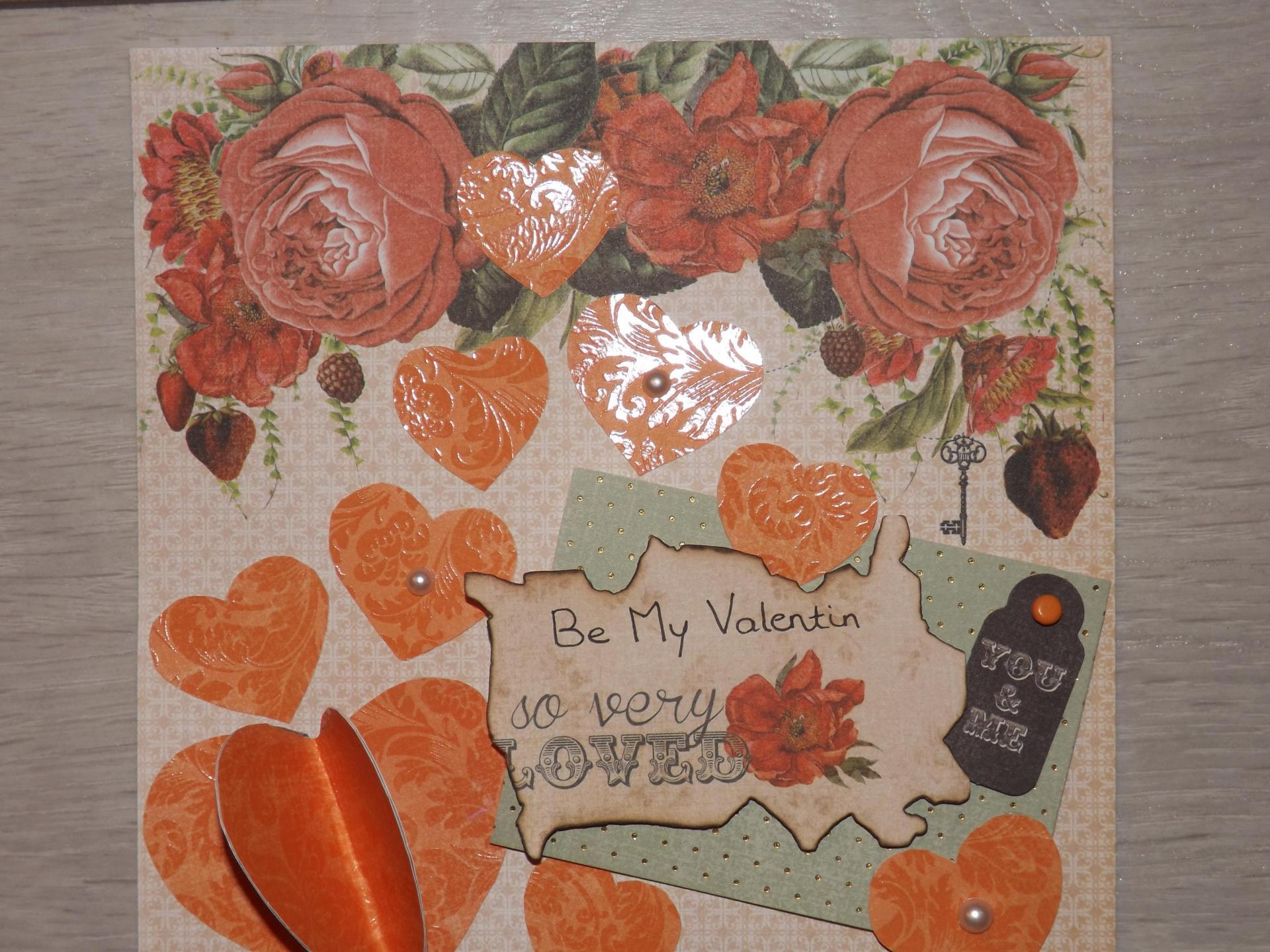 "Carte ""Saint Valentin"""
