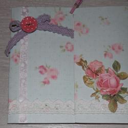 Carte aux roses